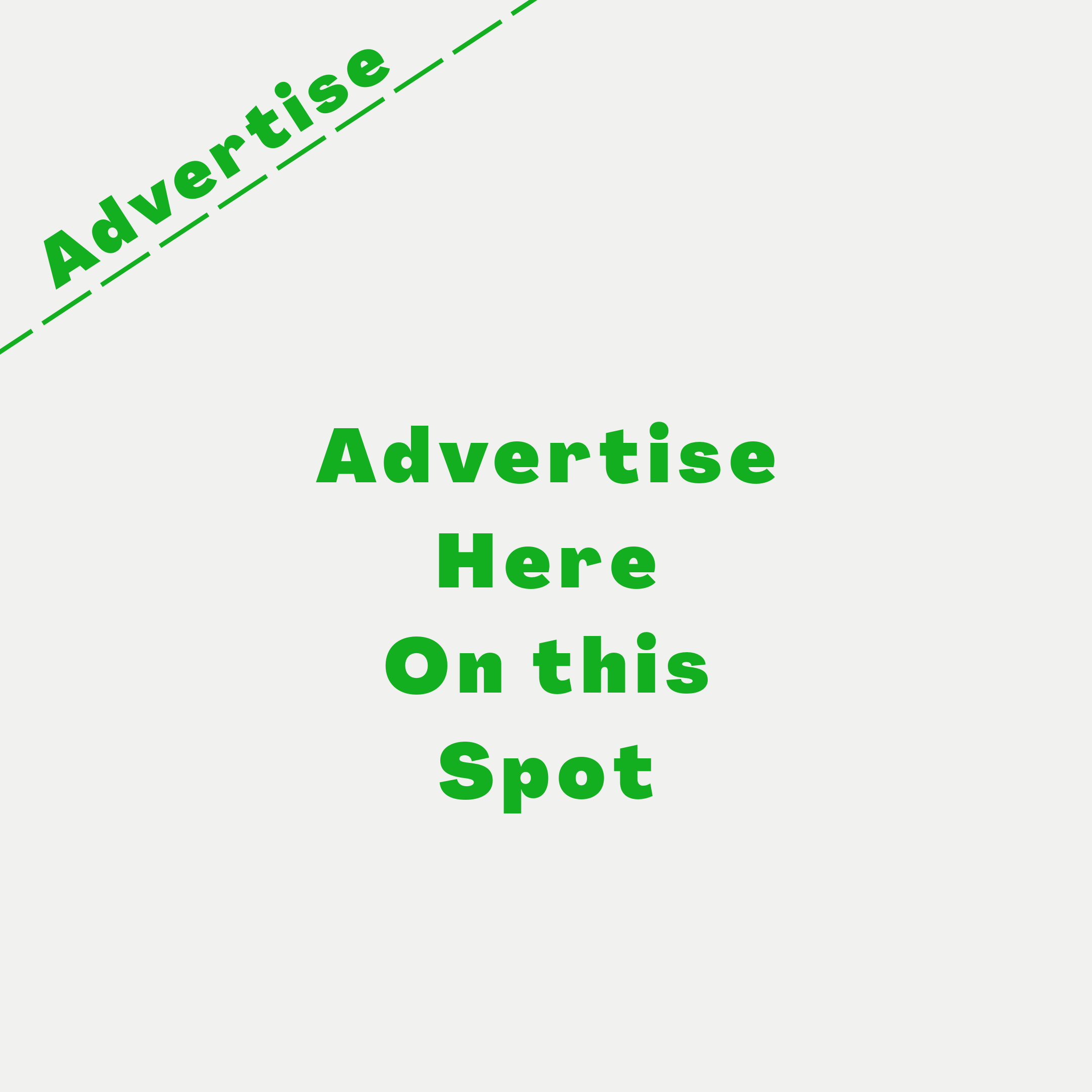 Place your Advert on this spot