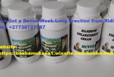 WhatsApp on +27730727287 Male Herbal Clinic Enlargement Pills, Oil and Cream