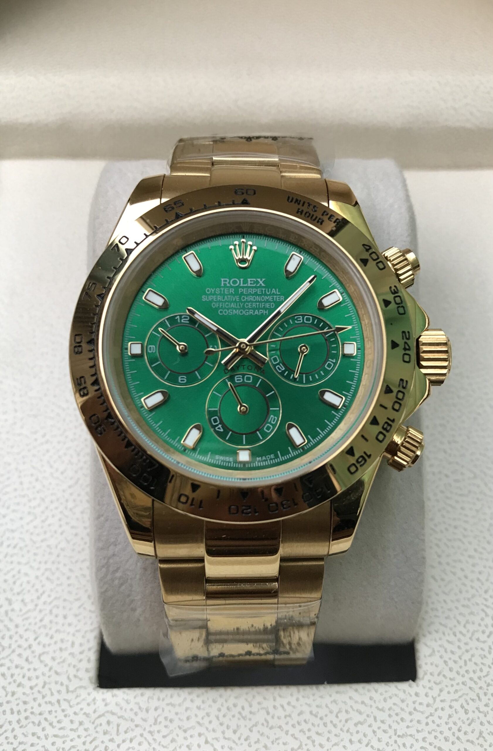Rolex Oyster Perpetual Green dial