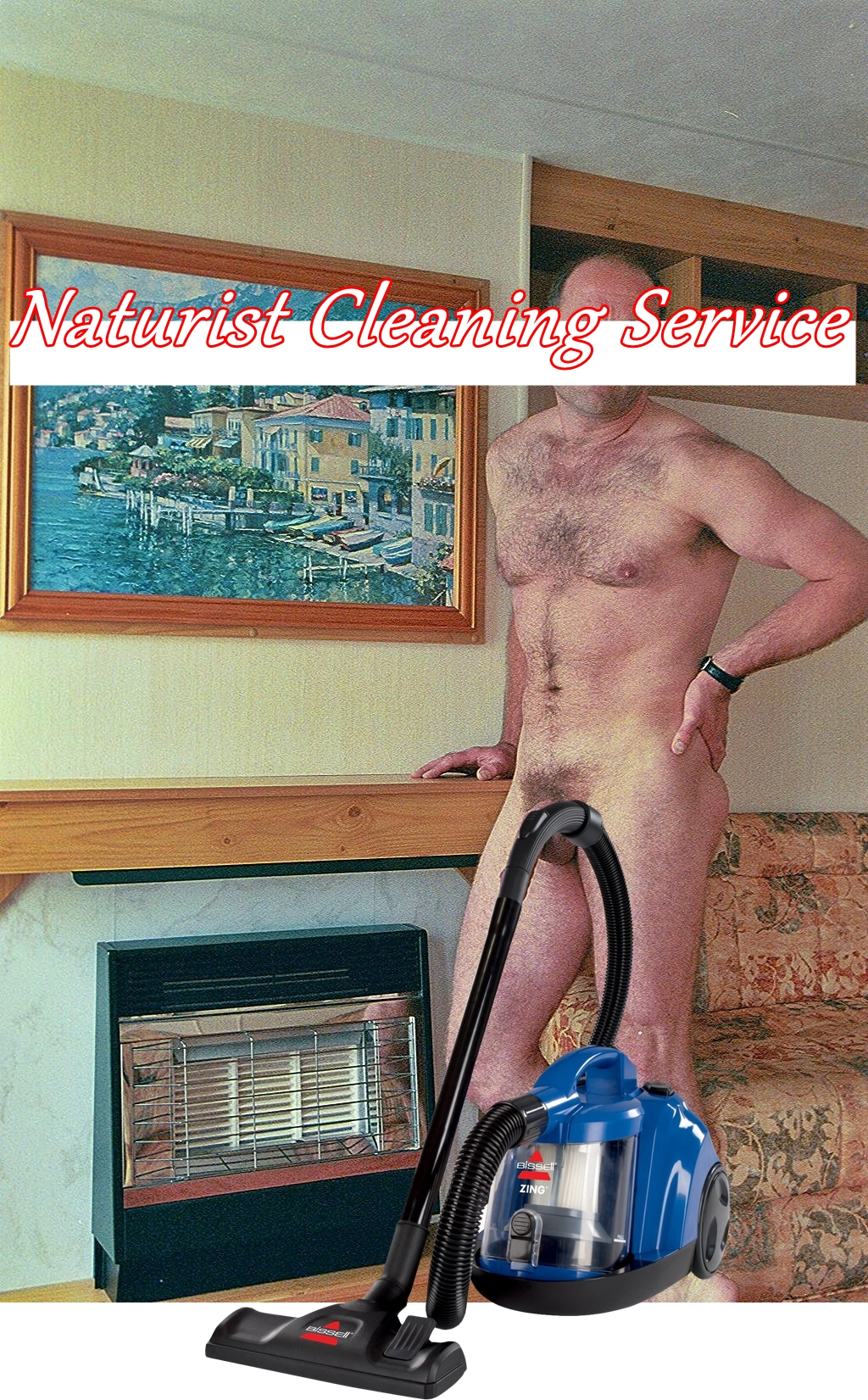 Nude Male Cleaner