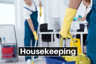 HOUSEKEEPING SERVICES AVAILABLE