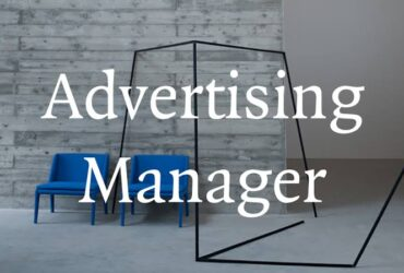 Assistant Advertising Manager needed